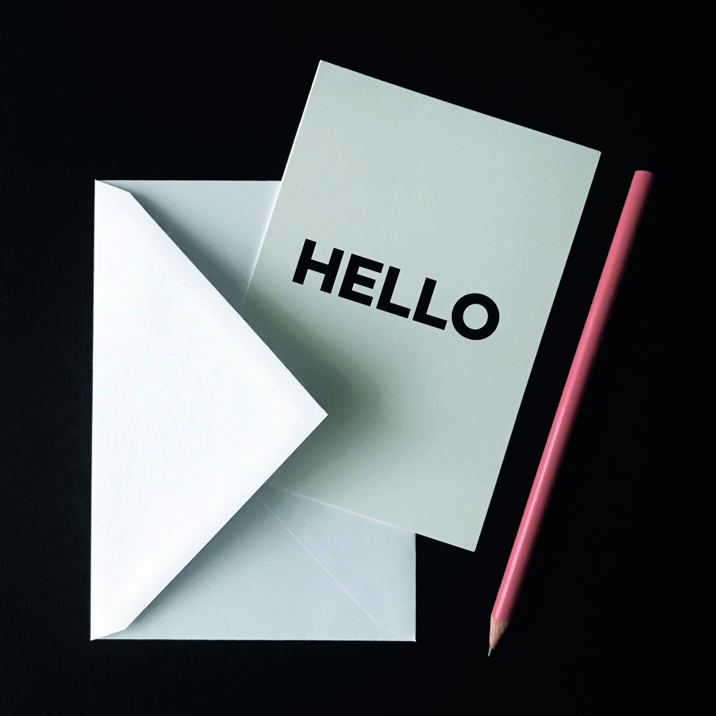 Hello Time_Hello Greeting Card