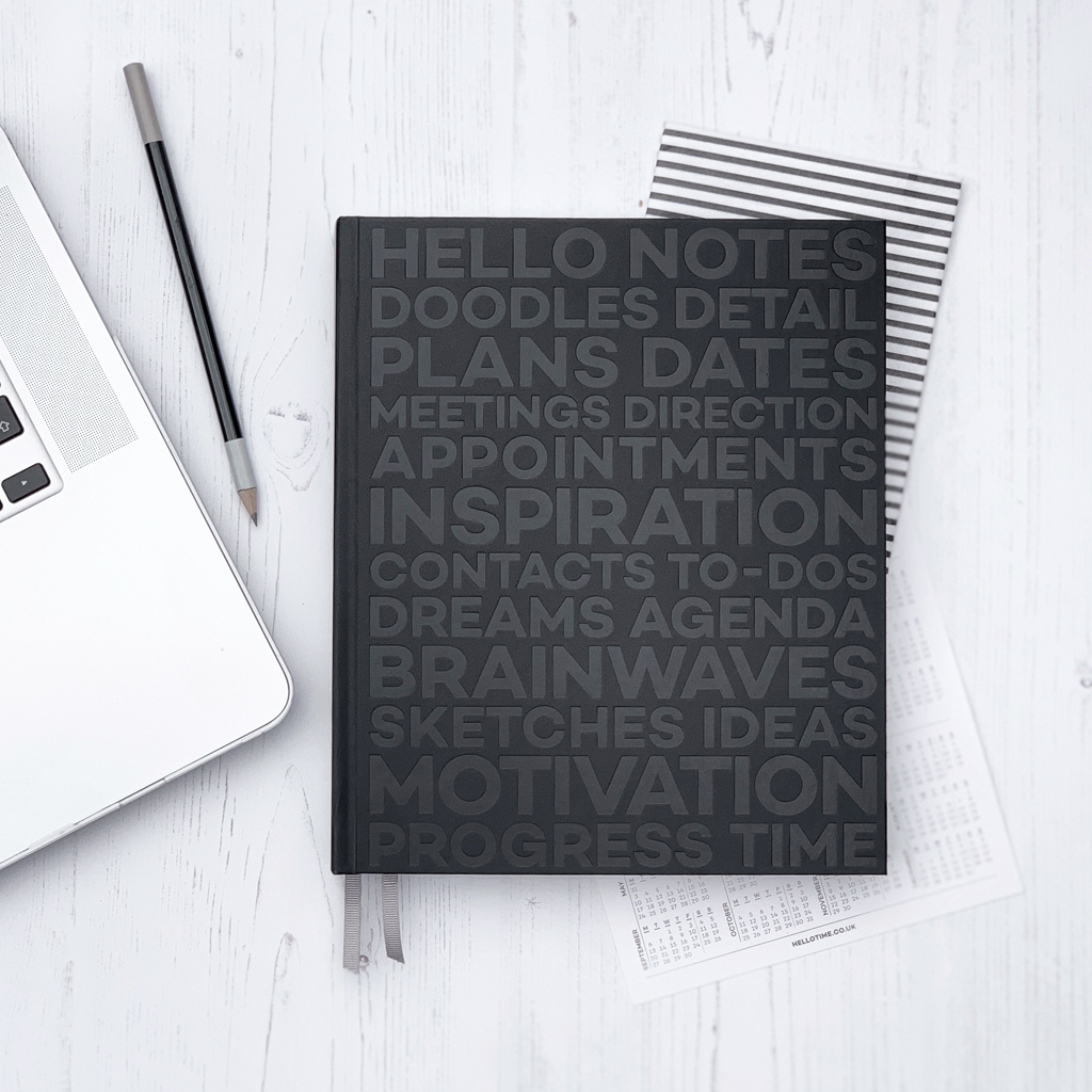 2019 weekly hello time planner productivity goal setting