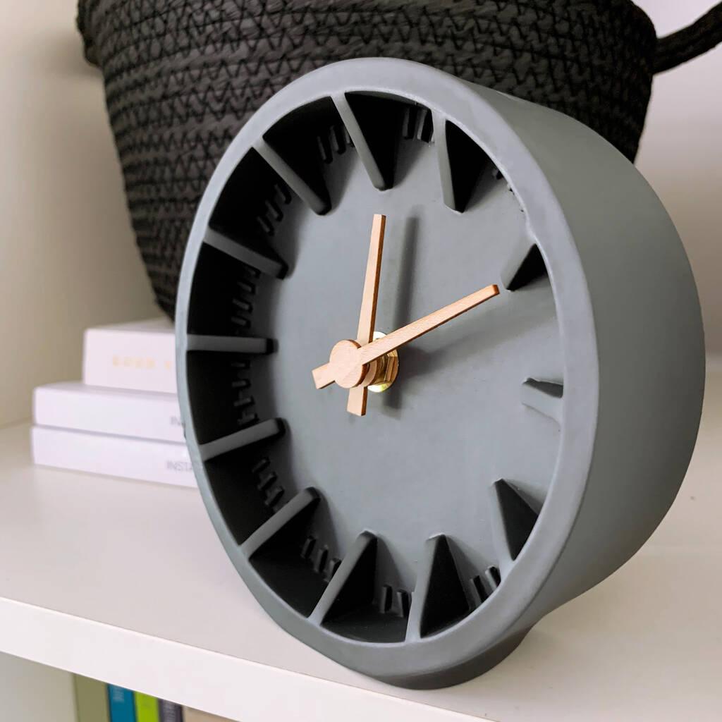 original_charcoal-desk-clock