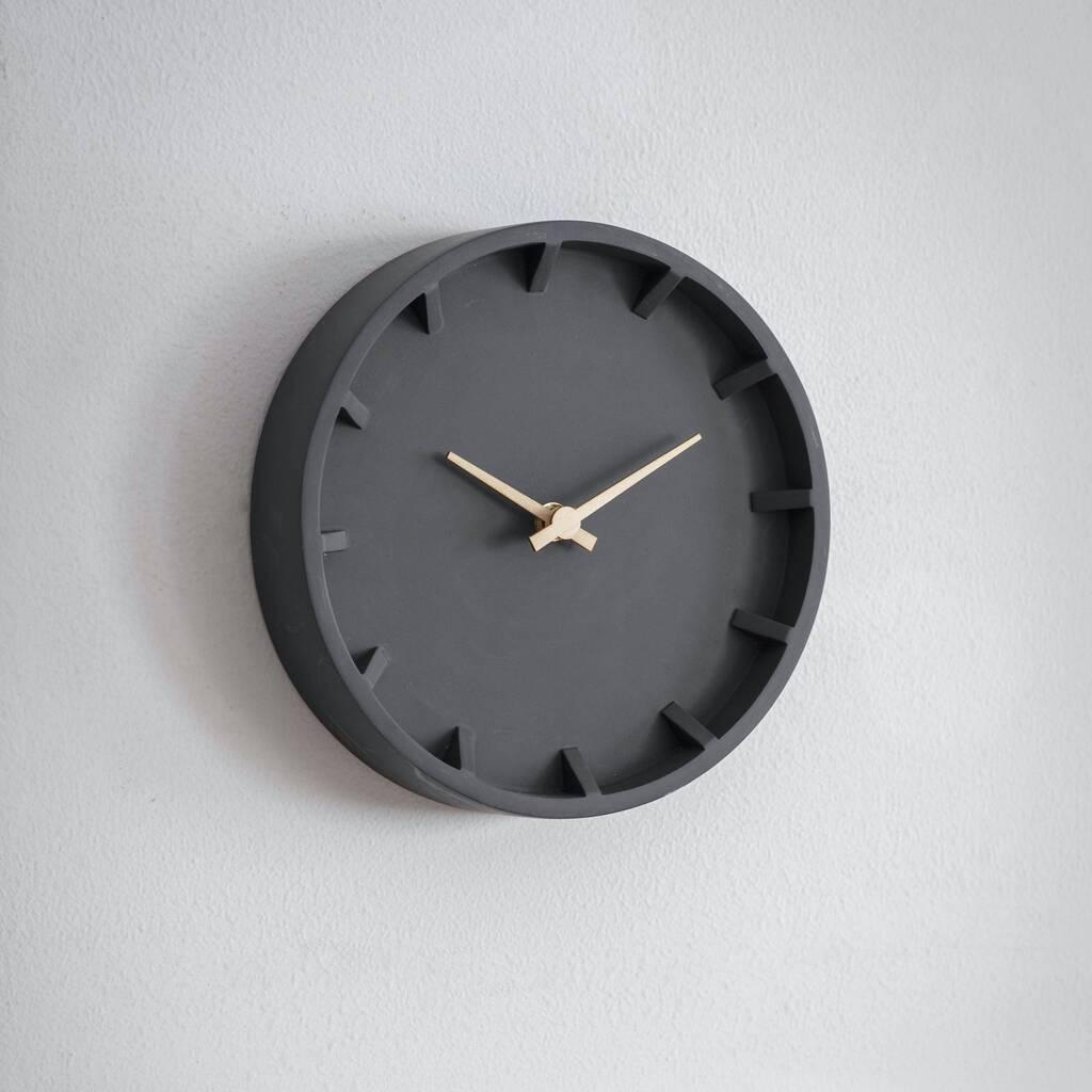 original_charcoal-wall-clock
